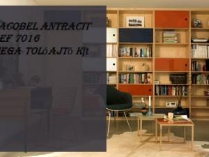 Lacobel antracit Hiteles - REF 7016 - ST