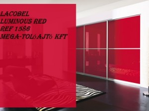 Lacobel Luminous Red - REF 1586 - ST