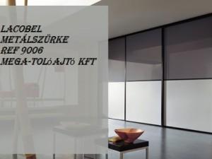 Lacobel metálszürke - REF 9006 - ST