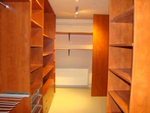 Gardrób szekrények